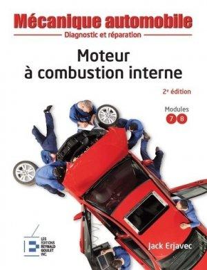 Moteur à combustion interne - Reynald Goulet - 9782893774367 -