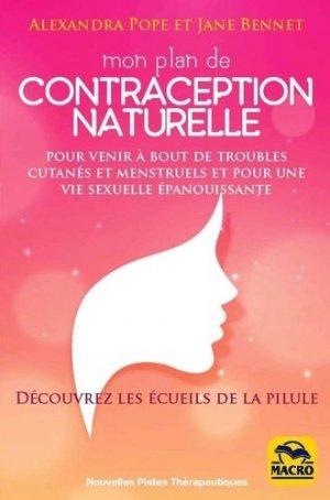 Mon plan de contraception naturelle : pour venir à bout des troubles cutanés et menstruels - macro - 9788893196901 -