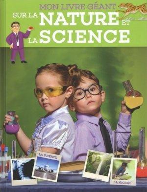 Mon livre géant sur la nature et la science - yoyo - 9789463605717 -