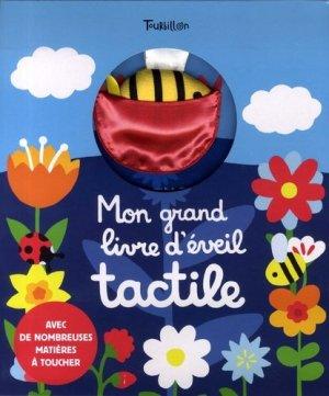 MON GRAND LIVRE D'EVEIL TACTILE - MON CHEMIN DES CHATOUILLES    - tourbillon - 9791027607440 -