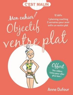 Mon cahier Objectif ventre plat - leduc - 9791028503628 -