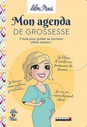 Mon agenda grossesse - leduc - 9791028515942 -