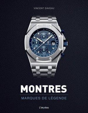 Montres marques de légende - de l'imprevu - 9791029508455 -