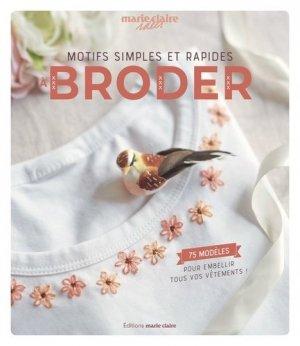 Motifs simples et rapides à broder - massin / marie claire (éditions) - 9791032305935 -