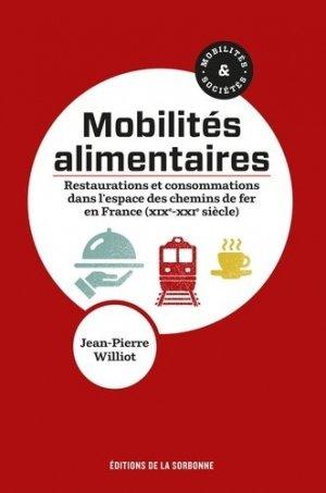 Mobilités alimentaires - presses de l'université paris sorbonne - pups - 9791035106126 -