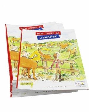 Mon cahier de cavalier - federation francaise d'equitation - 9791095279105 -