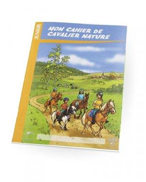 Mon cahier de cavalier nature - federation francaise d'equitation - 9791095279228 -