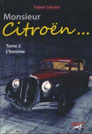 Monsieur Citroën... - Tome 2, L'homme - frederic douin - 9791096322077 -