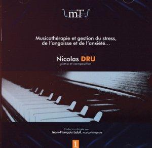 Musicothérapie et gestion du stress, de l'angoisse et de l'anxiété vol.1 - jean-francois labit - 2225221598268 -