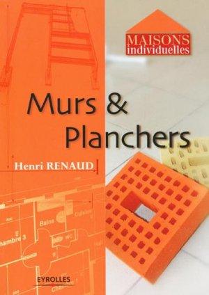 Murs et planchers - eyrolles - 9782212111255 -