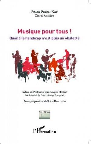 Musique pour tous ! - l'harmattan - 9782343026497 -