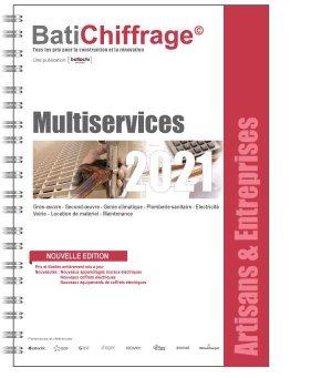 Multiservices 2021 - batichiffrage - 9782358061315 -