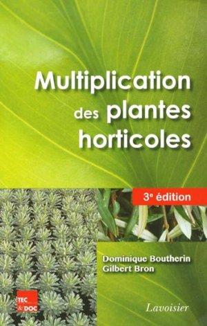 Multiplication des plantes horticoles - lavoisier / tec et doc - 9782743015305