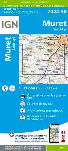 Muret - Saint-Lys - ign - 9782758541493 -