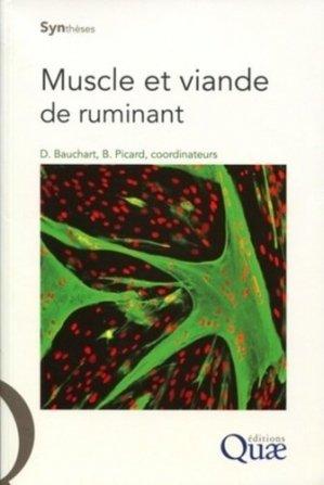 Muscle et viande de ruminant - quae  - 9782759208777 -