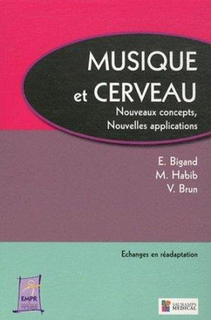 Musique et cerveau - sauramps medical - 9782840237709 -