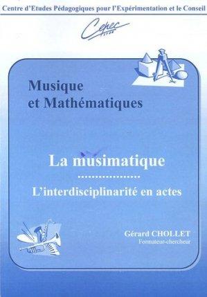 Musique et Mathématiques - Centre d'Etudes Pédagogiques pour l'Expérimentation et le Conseil - 9782907756020 -