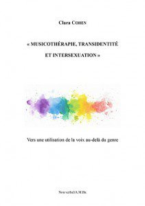 Musicothérapie, transidentité et intersexuation - du non verbal - 9791093532509 -