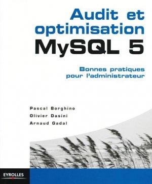 MySQL 5  Audit et optimisation - eyrolles - 9782212126341 -