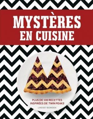 Mystères en cuisine. Plus de 100 recettes inspirées de Twin Peaks - huginn muninn - 9782364805729 -