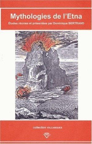 Mythologies de l'Etna - presses universitaires blaise pascal - 9782845162037 -