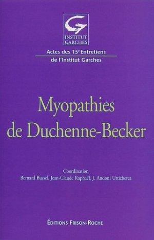 Myopathies de Duchenne-Becker - frison roche - 9782876713994 -