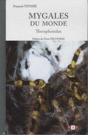 Mygales du Monde, Theraphosidae - nap - 9782913688230 -