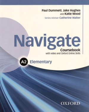 Navigate Elementary A2 - Coursebook - oxford - 9780194566360 -