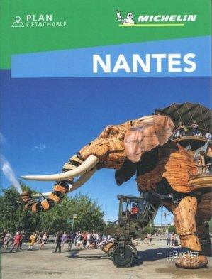 Nantes. Edition 2020. Avec 1 Plan détachable - Michelin Editions des Voyages - 9782067245150 -