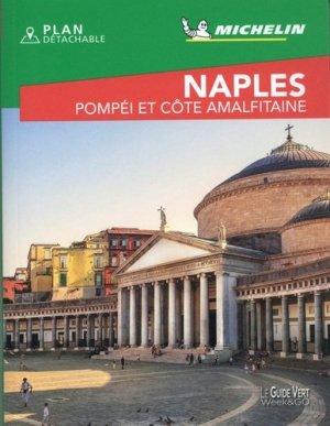 Naples. Pompéi et côte amalfitaine, Edition 2020, avec 1 Plan détachable - michelin - 9782067245167 -