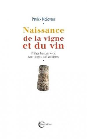 Naissance de la vigne et du vin - libre et solidaire - 9782372630122 - majbook ème édition, majbook 1ère édition, livre ecn major, livre ecn, fiche ecn