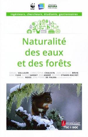 Naturalité des eaux et des forêts - lavoisier / tec et doc - 9782743021801 -