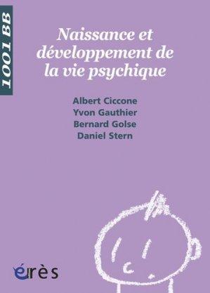 Naissance et développement de la vie psychique - eres - 9782749209722 -