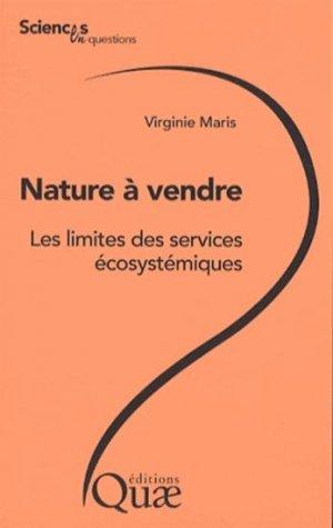 Nature à vendre - quae  - 9782759221318 -
