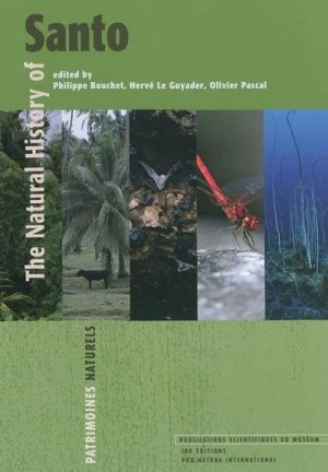 Natural history of Santo - museum national d'histoire naturelle - 9782856536278 -