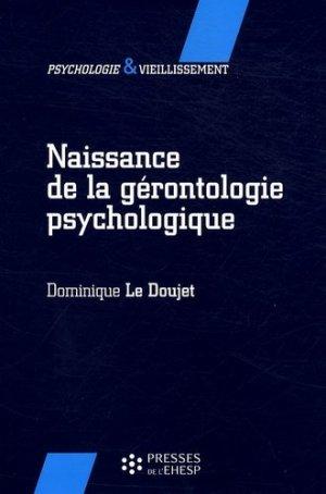 Naissance de la gérontologie psychologique - EHESP - 9782859529536 -