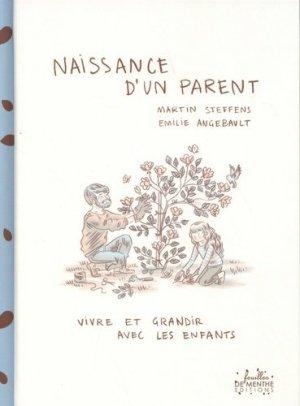 Naissance d'un parent - Feuilles de menthe Editions - 9782917653258 -