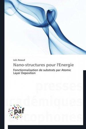 Nano-structures pour l'énergie - Presses Académiques Francophones - 9783841627735 -