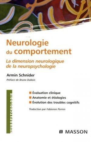 Neurologie du comportement - elsevier / masson - 2302294068246 -
