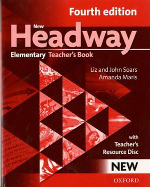 New Headway Elementary A1-A2 Teacher's Book + Teacher's Resource Disc - oxford - 9780194769112 -