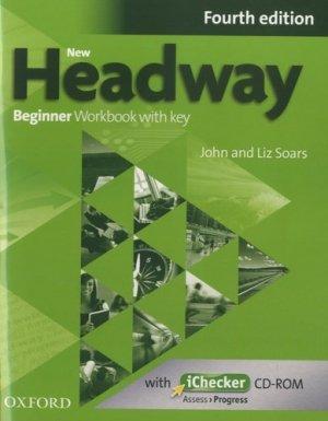 New Headway Beginner A1 Workbook + iChecker with Key - oxford - 9780194771085 -