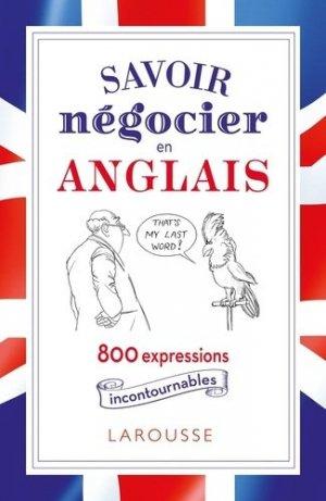 Négocier en anglais, c'est dans la poche - Larousse - 9782036004184 -