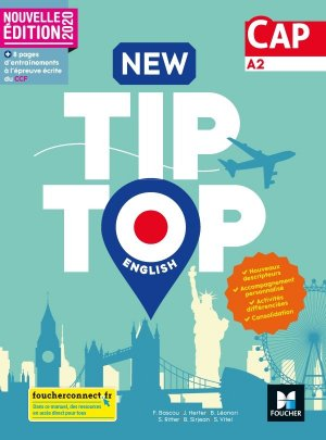 New Tip Top ENGLISH CAP - Ed. 2020 - Livre élève - foucher - 9782216157365 -