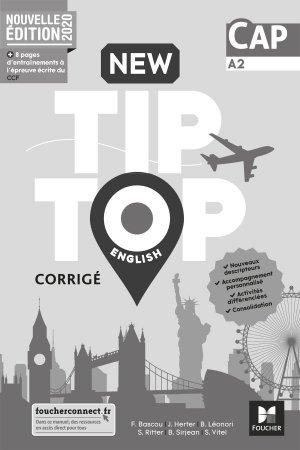 New Tip Top ENGLISH CAP - Ed. 2020 - Corrigé - foucher - 9782216157389 -