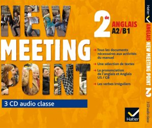 New Meeting Point 2de : 3 CD Audio-Classe - hatier - 9782218979965
