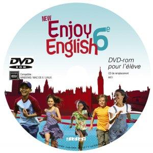 New Enjoy English 6e : DVD-rom pour l'Élève de Remplacement - Didier - 9782278063680 -