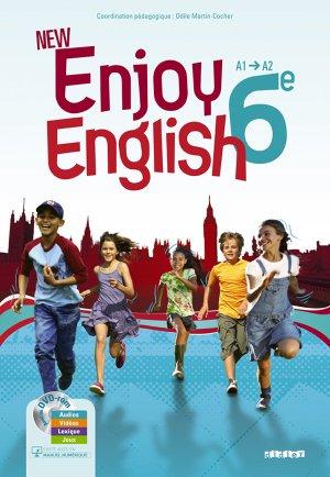 New Enjoy English 6e : 1 Manuel et 1 DVD-rom - Didier - 9782278068807 -