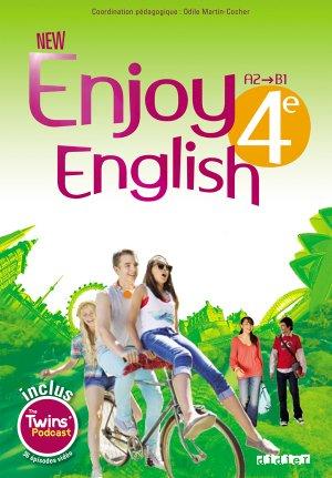 New Enjoy English 4e : 1 Livre et 1 DVD-rom - Didier - 9782278078943 -