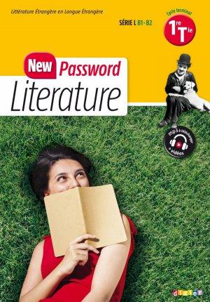 New Password Literature 1re Terminale Série L - Didier - 9782278085927 -