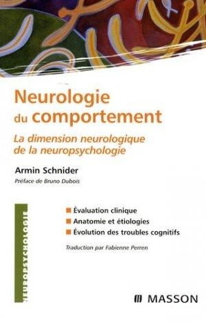 Neurologie du comportement - elsevier / masson - 9782294068249 -
